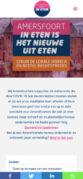 Mobiele weergave website Amersfoort Gaat In Eten