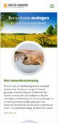 Mobiele weergave website ri-buitenbouw.nl